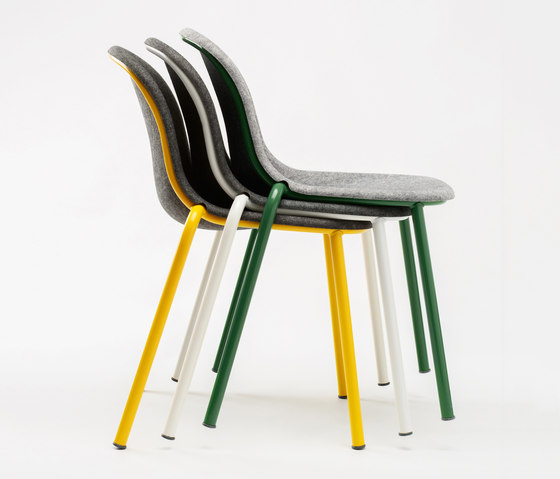 LJ 2 Stack Chair by De Vorm | Chairs