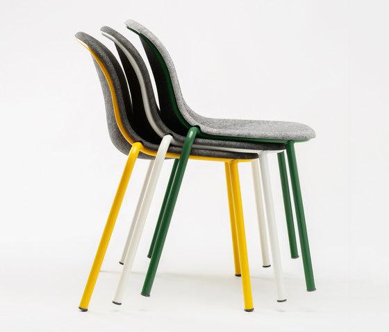 LJ 2 Stack Chair by De Vorm | Restaurant chairs