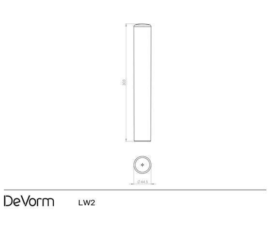LW 2 Rubber Pendant Lamp by De Vorm | Suspended lights