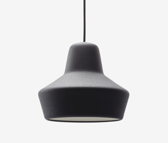 LW 3 Rubber Pendant Lamp by De Vorm | Suspended lights