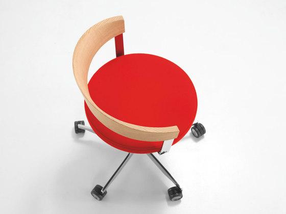 G 125 Swivel chair de Girsberger | Sillas de oficina