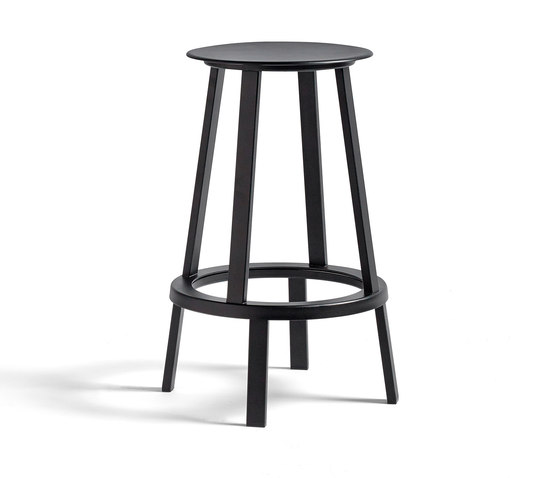 WH Revolver by Hay Stool Product : wh revolver stool h65 black b from www.architonic.com size 560 x 478 jpeg 18kB