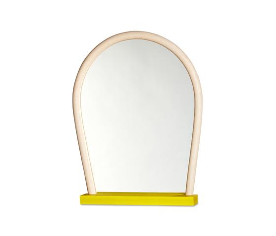 Bent Wood Mirror von Hay | Wandspiegel
