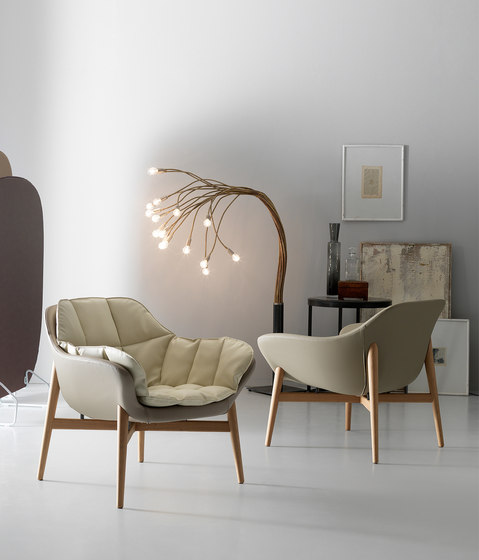 Manta Armchair von Quinti Sedute | Loungesessel