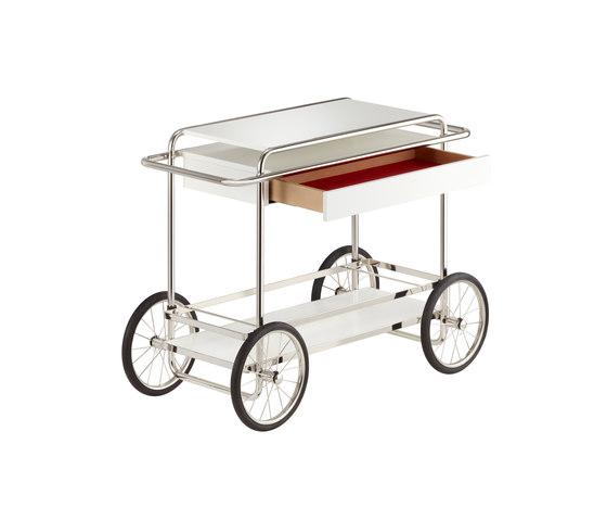 M4RS Konsolwagen mit Schublade von TECTA | Teewagen / Barwagen
