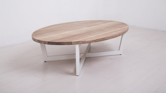 Essentials Oval Coffee Table Large by Uhuru Design | Coffee tables