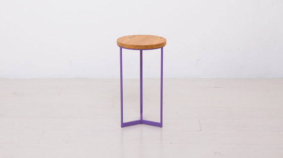 Essentials Round End Table Small by Uhuru Design | Side tables