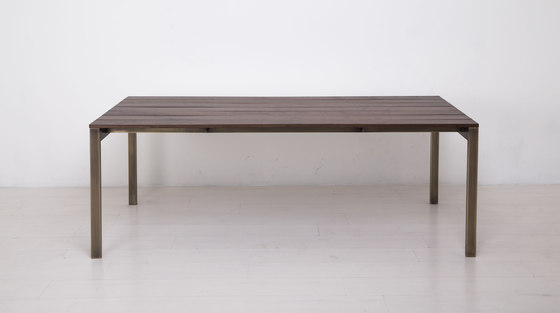 Essentials Rectangular Dining Table by Uhuru Design | Dining tables