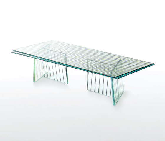Crossing di Glas Italia | Tavolini salotto