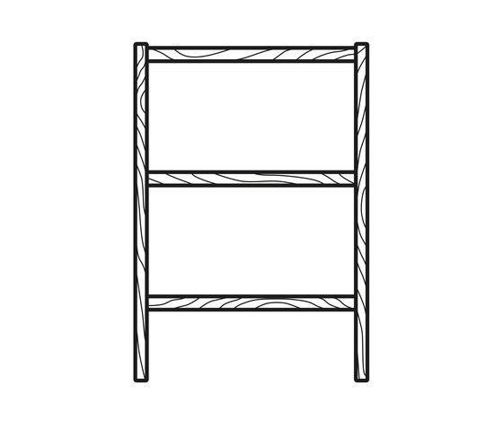 Dan Ladder de BULO | Estanterías toallas