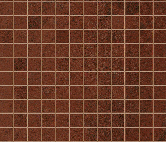 Evoque Copper Gres Mosaico Floor di Fap Ceramiche | Mosaici ceramica