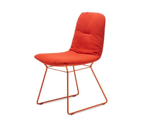 Leya | Chair with wire frame by FREIFRAU MANUFAKTUR | Chairs