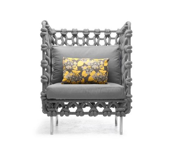 Cabaret Lounge Chair von Kenneth Cobonpue   Sessel