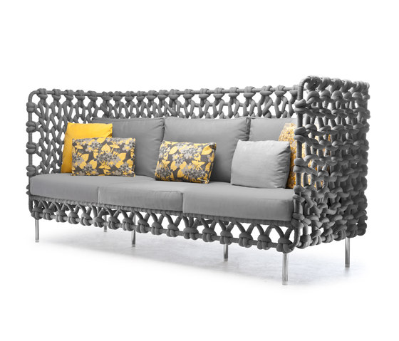 Cabaret Sofa High Back by Kenneth Cobonpue | Sofas