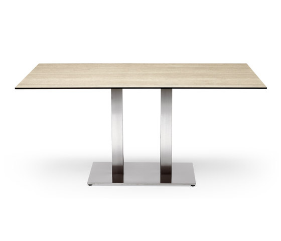 Tiffany two column restaurant tables from scab design for Table design restaurant