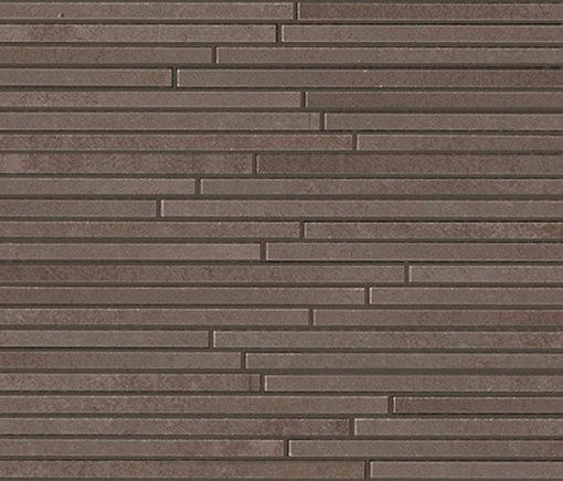 Evoque Tratto Earth Mosaico Wall di Fap Ceramiche   Mosaici ceramica