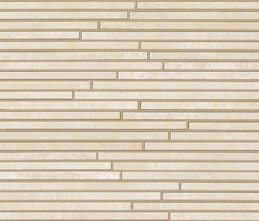 Evoque Tratto Beige Mosaico Wall by Fap Ceramiche | Ceramic mosaics