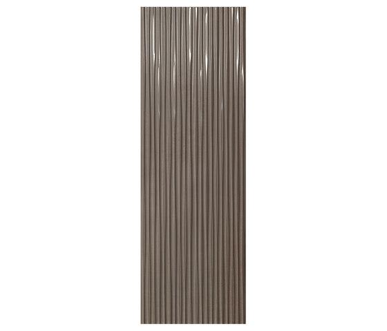 Evoque Plissé Earth  Wall by Fap Ceramiche   Ceramic tiles