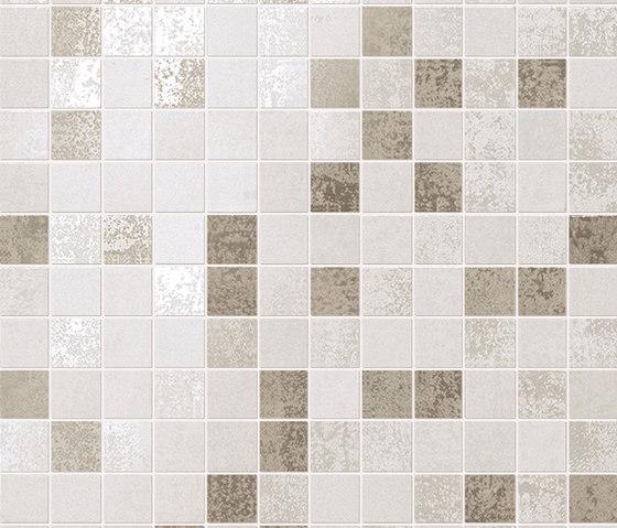Evoque White Mosaico Wall de Fap Ceramiche | Mosaicos de cerámica