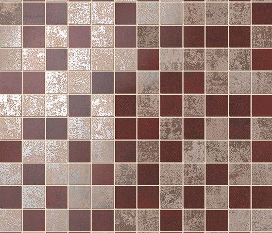 Evoque Copper Mosaico Wall von Fap Ceramiche | Keramik Mosaike