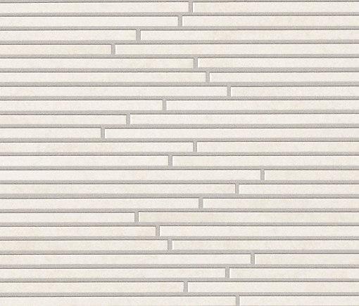 Evoque Tratto White Mosaico Wall di Fap Ceramiche | Mosaici ceramica