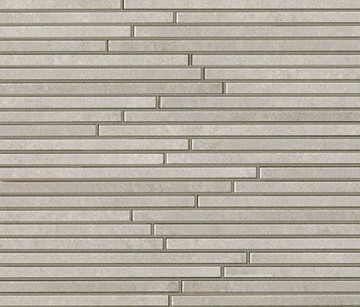 Evoque Tratto Grey Mosaico Wall di Fap Ceramiche | Mosaici ceramica