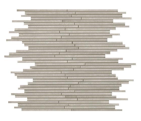 Evoque Tratto Grey Mosaico Wall de Fap Ceramiche | Mosaicos de cerámica