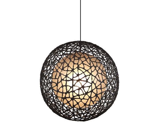 C-U C-Me Hanging Lamp round large de Kenneth Cobonpue | Iluminación general