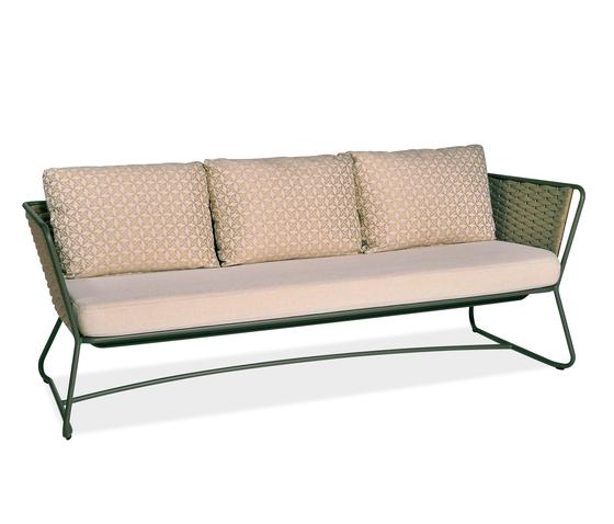 Portofino 9743 sofa 3-seater de ROBERTI outdoor pleasure | Sofás