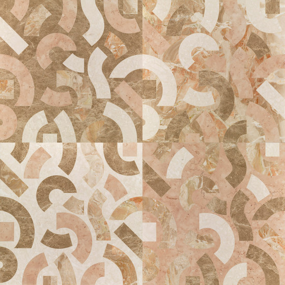 Opus | Anemone perla de Lithos Design | Panneaux en pierre naturelle