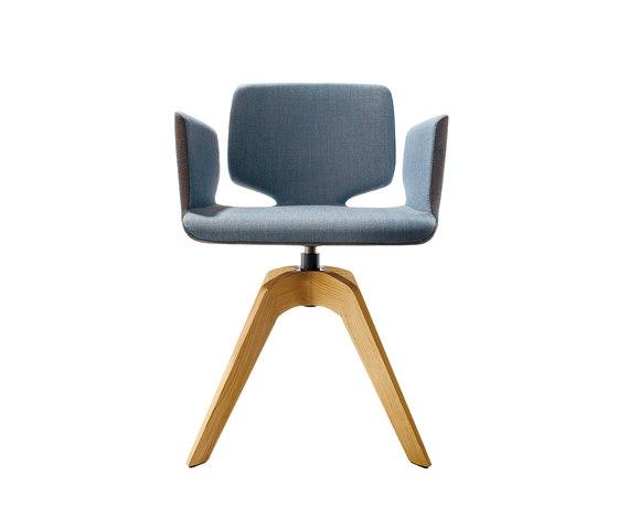 aye stuhl mit drehgestell besucherst hle von team 7. Black Bedroom Furniture Sets. Home Design Ideas