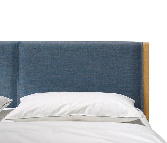 mylon bett betten von team 7 architonic. Black Bedroom Furniture Sets. Home Design Ideas