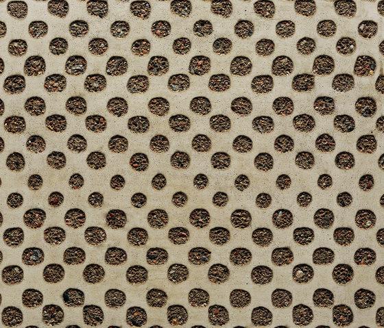 GCGeo Square grey cement - natural aggregate by Graphic Concrete | Exposed concrete