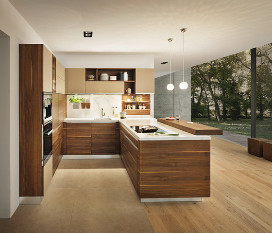 linee kitchen by TEAM 7   Fitted kitchens