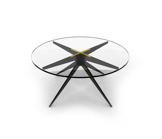 DEAN Round Coffee Table de Gabriel Scott   Mesas de centro