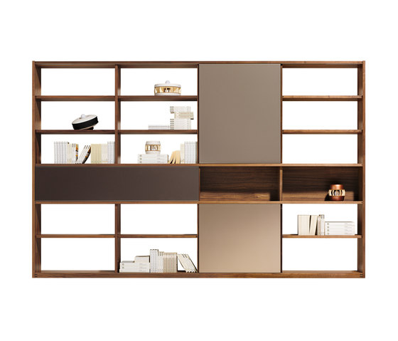 cubus library library shelving from team 7 architonic. Black Bedroom Furniture Sets. Home Design Ideas