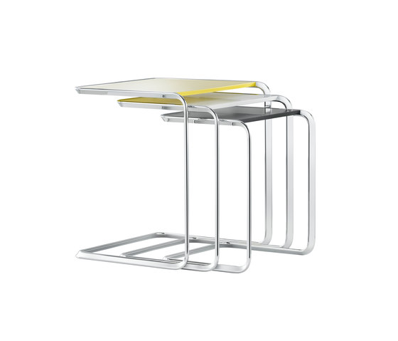 K3 Oblique-nesting table by TECTA | Nesting tables