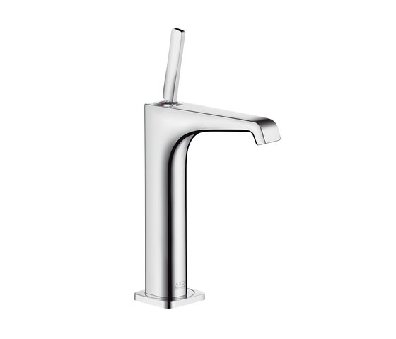 AXOR Citterio E Single lever basin mixer 215 without pull-rod for washbowls by AXOR   Wash basin taps