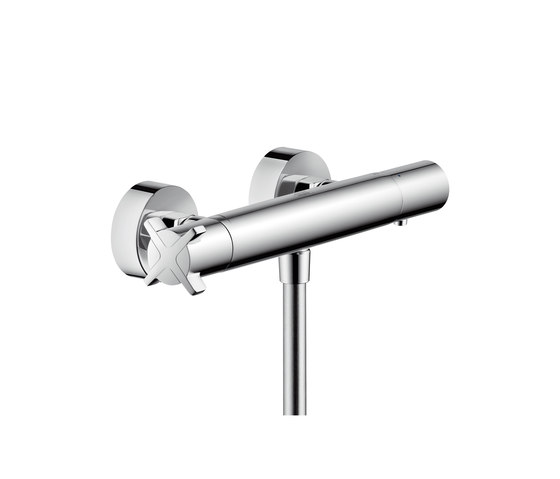 AXOR Citterio E Thermostatic shower mixer for exposed installation by AXOR   Shower controls