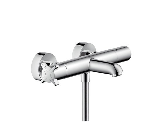 AXOR Citterio E Thermostatic bath mixer for exposed installation by AXOR | Bath taps