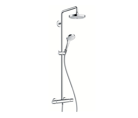 hansgrohe Croma Select S 180 2jet Showerpipe by Hansgrohe | Shower controls