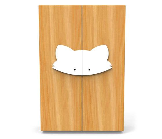 Fox Wardrobe by GAEAforms | Kids storage furniture