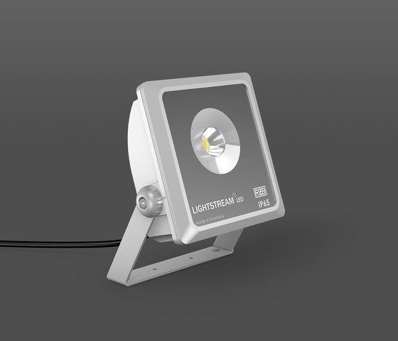 Lightstream Mini Strahler von RZB - Leuchten | Außen Bodenaufbauleuchten
