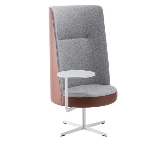 banc High-back chair BC-040 de Brunner | Sillones