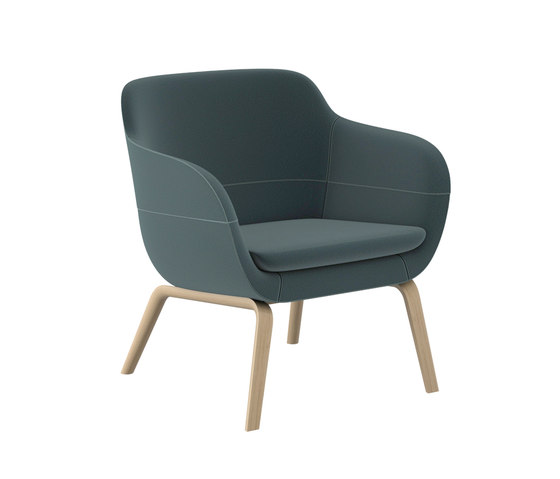 crona lounge 6387/A by Brunner | Armchairs