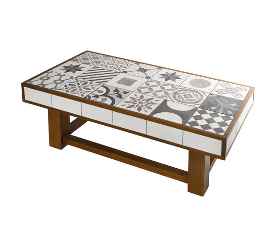 The Art Collection Table-Patch von Valmori Ceramica Design | Couchtische