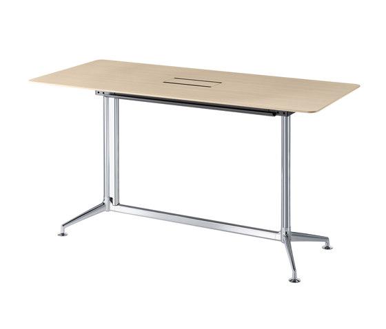 fina conference Table Haute de Conférence 6954 de Brunner | Tables debout