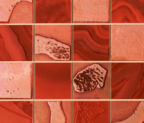 Home Decor Quadra rojo de APE Grupo | Mosaïques céramique