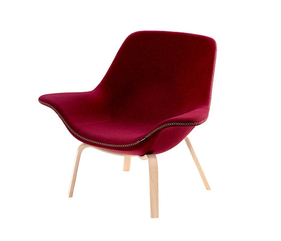 Oyster easy chair by OFFECCT   Armchairs