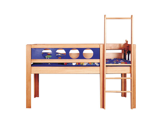 Pirate Semi-High Game Bed DBA-202.1 by De Breuyn | Kids beds